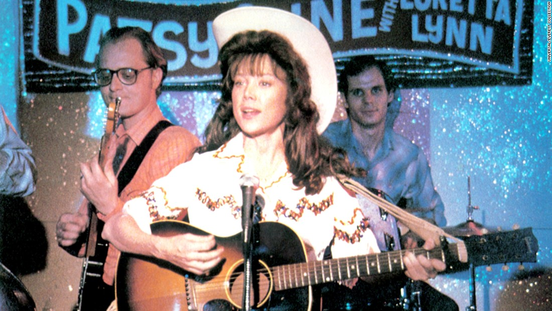 "<strong>""Coal Miner's Daughter"": </strong>Sissy Spacek won the best actress Academy Award for her role as country singer Loretta Lynn in this 1980 film about the singer's rise to fame. <strong>(HBO Now)</strong>"