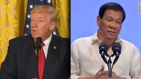 Philippines spokesman: Duterte and Trump 'alike'