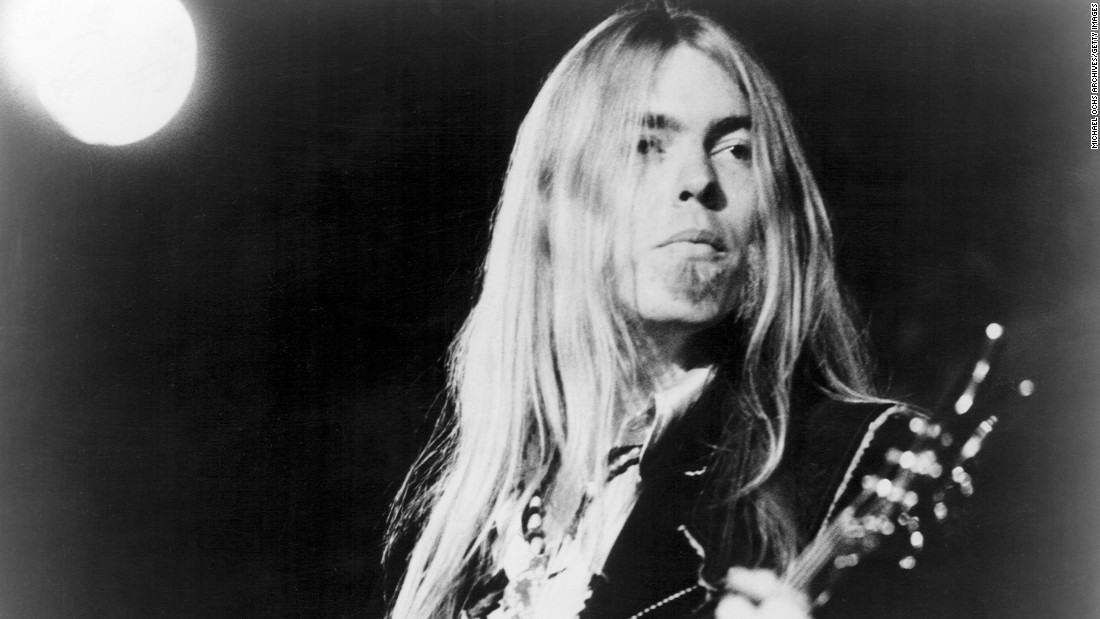 "<a href=""http://www.cnn.com/2017/05/27/entertainment/gregg-allman-obituary/index.html?adkey=bn"" target=""_blank"">Gregg Allman</a>, the founding member of the Allman Brothers Band who overcame family tragedy, drug addiction and health problems to become a grizzled elder statesman for the blues music he loved, died May 27. He was 69."