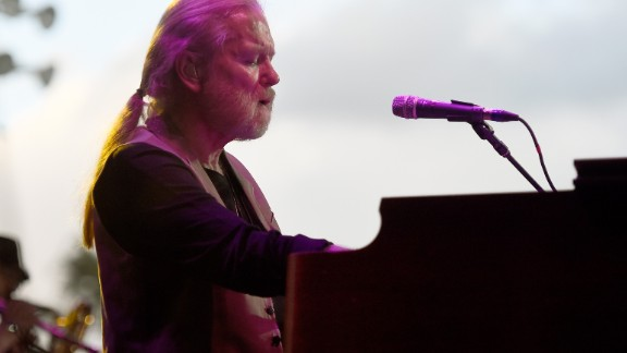 Musician Gregg Allman performs onstage during day two of 2015 Stagecoach, California