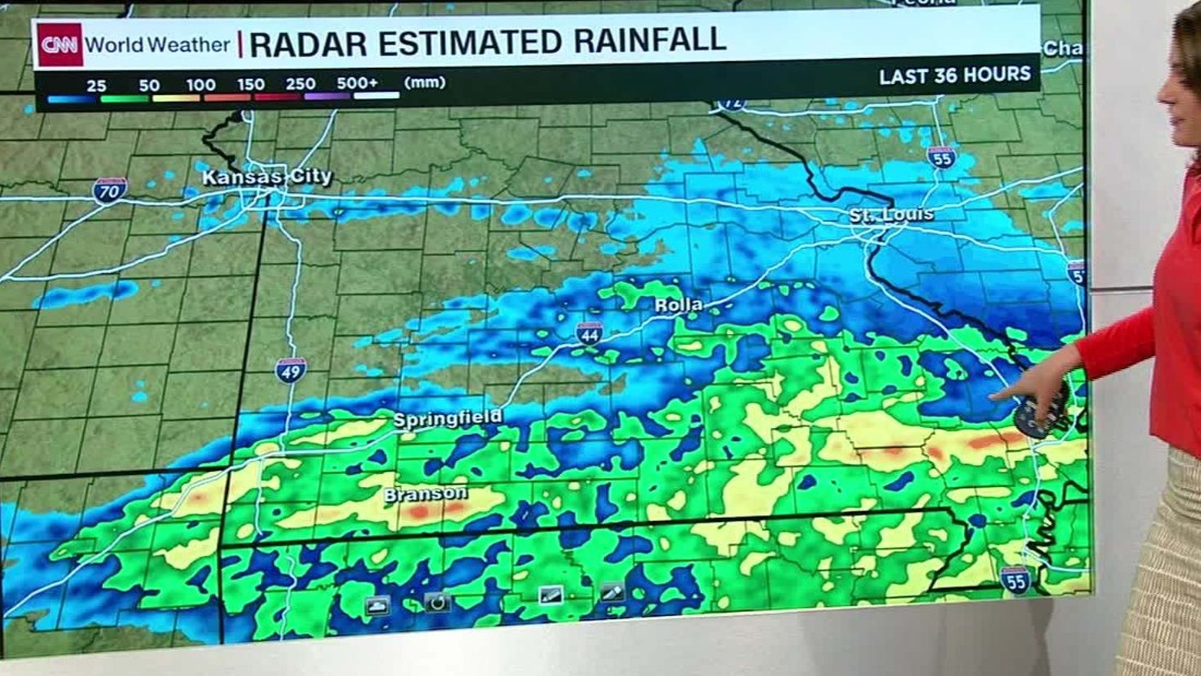 Severe Weather Rips Through Midwest CNN Video - World weather map live