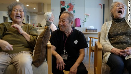 Where the elderly take care of each other -- because no one else will