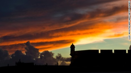 The San Felipe del Morro castle, UN World Heritage since 1983, in San Juan, on August 1, 2010.The San Felipe del Morro Fort is a fortification built in XVI century the north end of San Juan Puerto Rico. AFP PHOTO/Luis Acosta / AFP PHOTO / LUIS ACOSTA        (Photo credit should read LUIS ACOSTA/AFP/Getty Images)