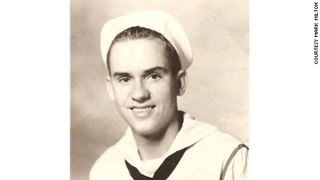 Milton Mockerman served in the Navy during World War II.