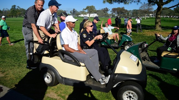 Woods pulled out of the Farmers Insurance Open in February 2015, and struggled with injury and form for the rest of the season.