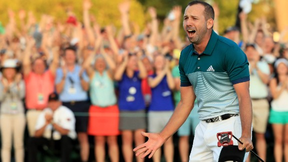 It took Sergio Garcia 74 major tournaments to win his first. But finally, earlier this year, that much sought after victory came at Augusta in the Masters.
