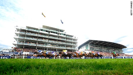 The Derby takes place on the first Saturday in June at Epsom, south of London.