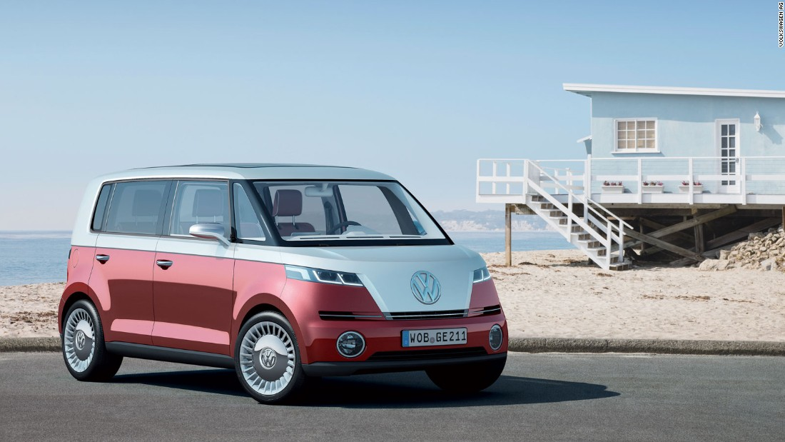 VW brought its Beetle back to 'modern' production; it has also flirted with reinventing its classic Microbus. This Bulli concept was the first of several themed show cars to appear.