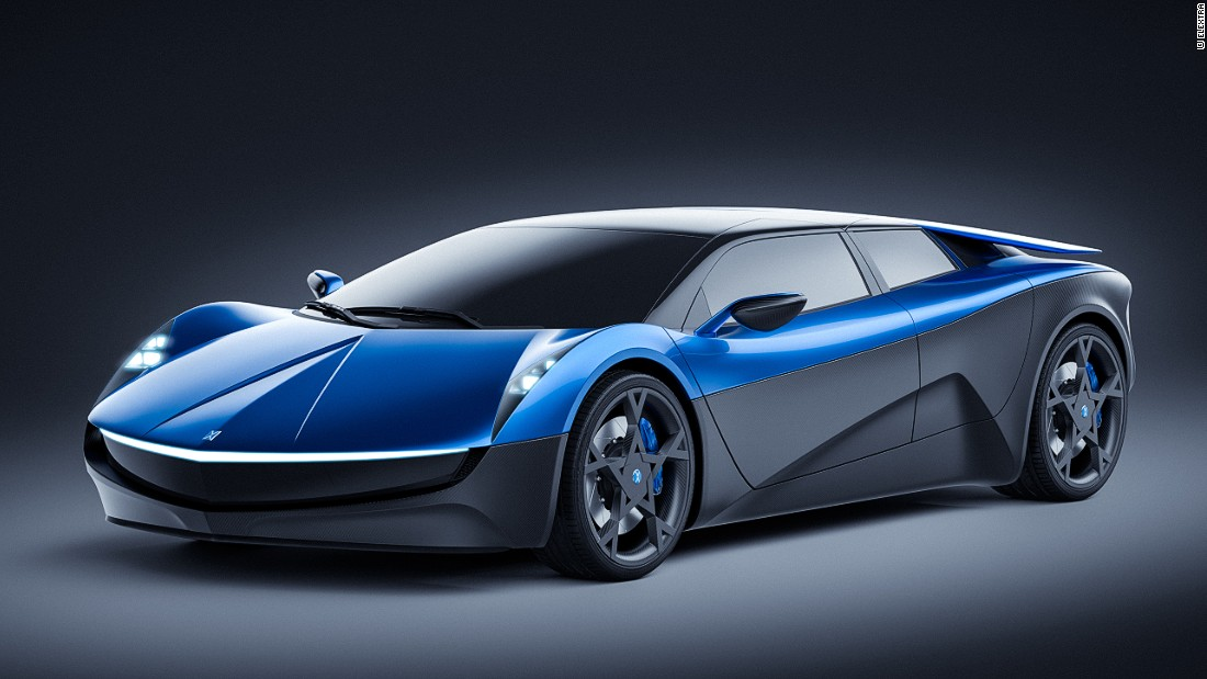 The Swiss Designed Concept Car Will Have A Range Of 600 Kilometers 372 Miles