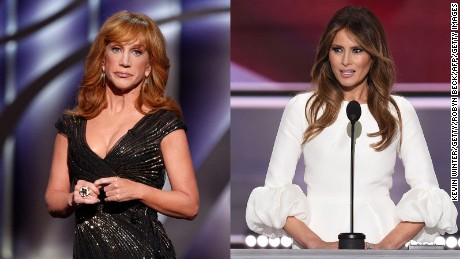 Melania Trump's strong words about that Kathy Griffin photo
