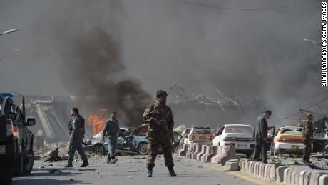 Kabul Ing 90 Killed In Near Diplomatic Area