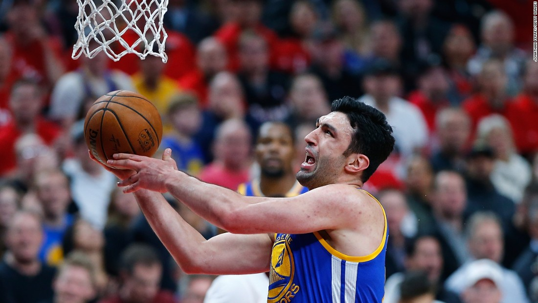 <strong>Zaza Pachulia, Golden State, center</strong><br />Pachulia, a journeyman playing on his fifth NBA team in 14 seasons, is the only Warriors starter who is not an All-Star. This is his Finals debut, having signed with Golden State during the offseason. He will share minutes with JaVale McGee at the center position.