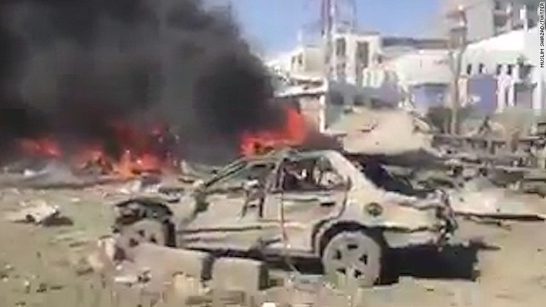 Kabul: Footage shows scene minutes after blast