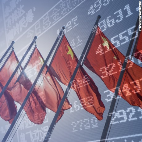 cnnmoney china markets flags