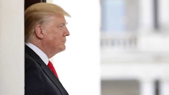U.S. President Donald Trump watches as Vietnamese Prime Minister Nguyen Xuan Phuc leaves the White House following meetings May 31, 2017 in Washington, DC. According to Phuc, the U.S. and Vietnam are working on new trade agreements after the Trump Administration withdrew from the Trans-Pacific Partnership.