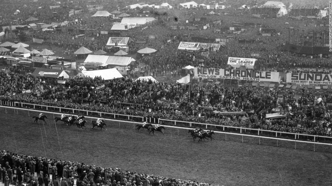 That didn't detract from its popularity, with the attendance swelling to around 8,000 in 1795 to 10 times that number in 1823, according to the official Epsom Derby website.