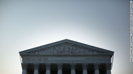 An exterior view of the U.S. Supreme Court on June 21, 2012 in Washington, DC.