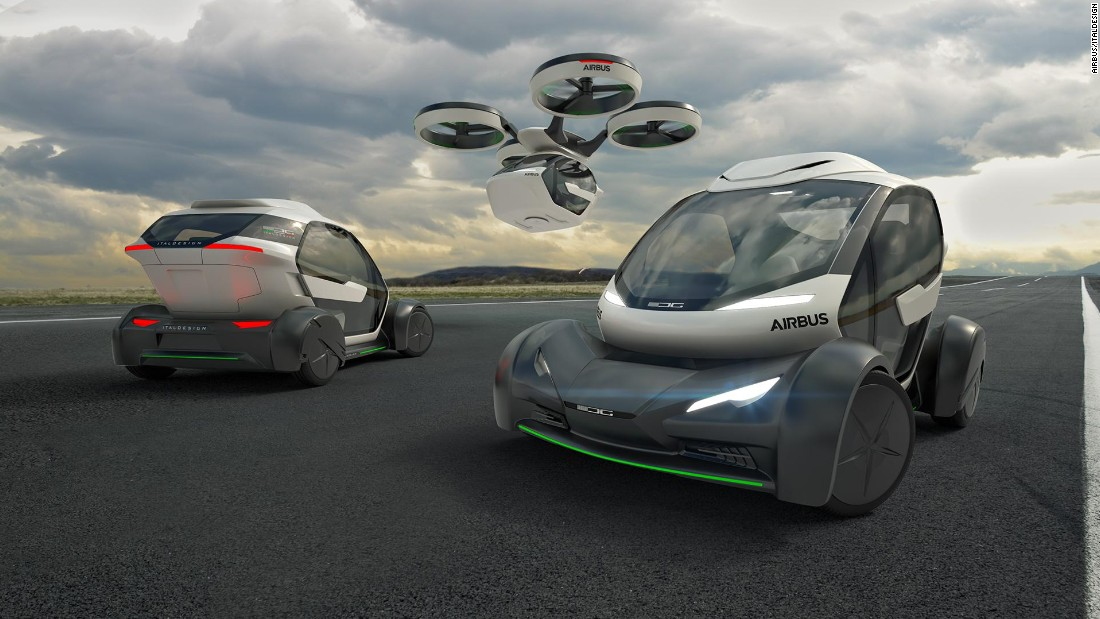 The Pop.Up is self-piloted, and passengers can manage the system with an app. No flight date has been currently set.