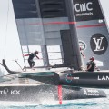americas cup action