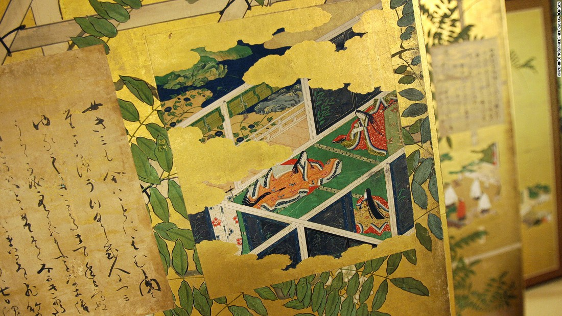 """The Tale of Genji"" is a Japanese story that is considered by many to be the first modern novel. It was written by a woman Murasaki Shikibu in the 11th century and is about the life and romances of Prince Genji."