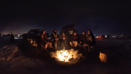 Young protesters who took part in demonstrations against the Dakota Access Pipeline protest at Standing Rock say they feel a kinship with Parkland students.