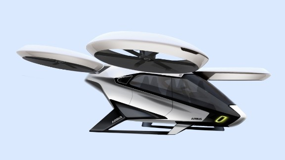 Meanwhile the CityAirbus concept -- another VTOL from the French aerospace giant -- is cut from the same cloth, though it carries up to four passengers. The first flight will take place end of 2018.
