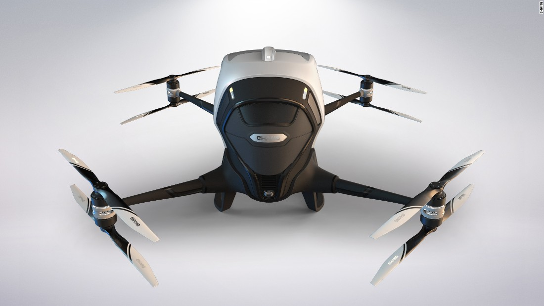 Dubai partnered with Chinese drone company Ehang to develop the Ehang 184, a single-passenger drone that has undergone multiple test flights. It should be ready for launch in July 2017, and Dubai hopes to shuttle passengers in them by 2020.