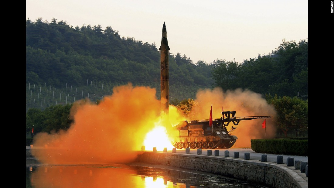 "A missile is test-fired by North Korea in this photo released by the country's state-run news agency on Tuesday, May 30. North Korea <a href=""http://www.cnn.com/2017/05/29/asia/north-korea-missile-test-warhead/"" target=""_blank"">claimed it fired a new type of ballistic missile,</a> demonstrating its ability to carry out a highly accurate strike. Experts, however, expressed skepticism, noting there is no way to independently verify the test results. North Korea has fired 12 missiles during nine tests so far this year."