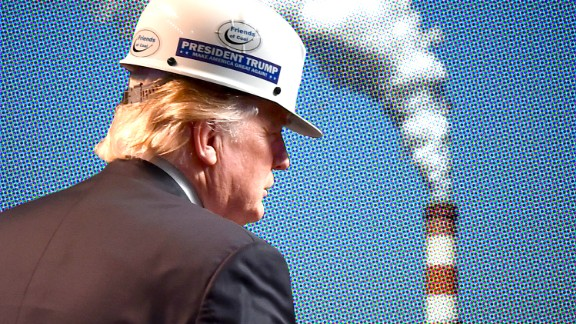 President Donald Trump has pulled the US out of the Paris Agreement on climate change.