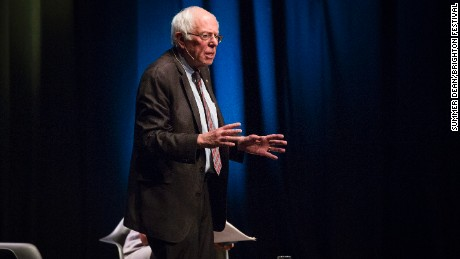 Bernie Sanders, in an event Thursday in Brighton, seemed confident that his British counterpart could succeed.