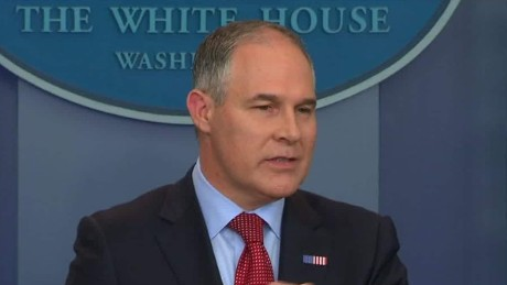 pruitt doesnt answer if trump believes in climate change sot_00003317