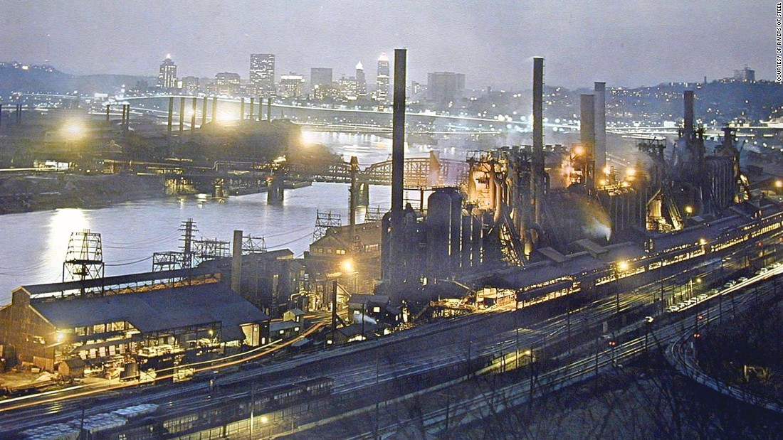 Steel Mill Pittsburgh Tour