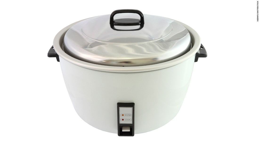 In 1955, electronics company Toshiba released Japan's first electric rice cooker. It was an instant success and became symbolic of prosperity for the working classes, before spreading internationally.