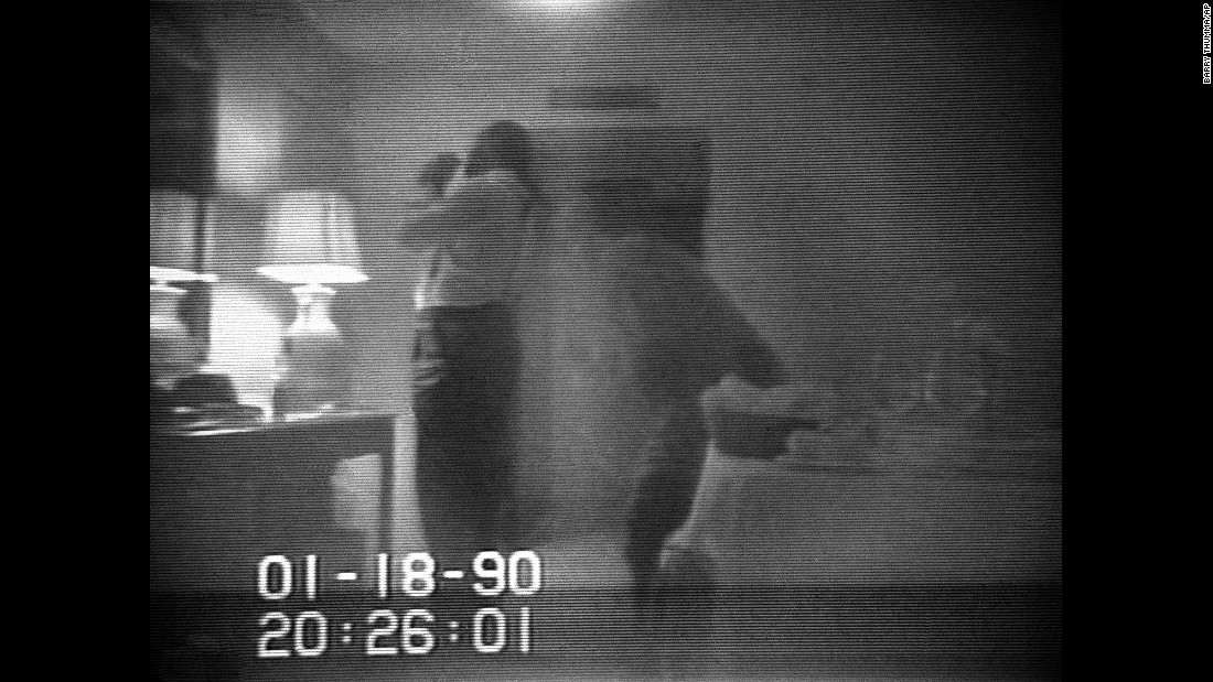"In this frame from a January 18, 1990, FBI surveillance tape, Washington Mayor Marion Barry is shown allegedly lighting a crack pipe in a hotel room. Barry was convicted of possession and served six months in prison, but revived his political career to reclaim the mayor's office in 1995. <a href=""http://www.cnn.com/2014/11/23/us/marion-barry-death/index.html"">He died in 2014 at age 78.</a>"