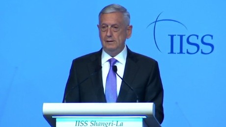US defense chief: 'Americans will do the right thing' in Pacific