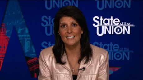 Haley: Trump believes the climate is changing