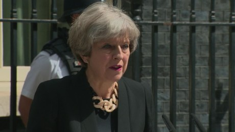 Theresa May: 'Enough is enough'