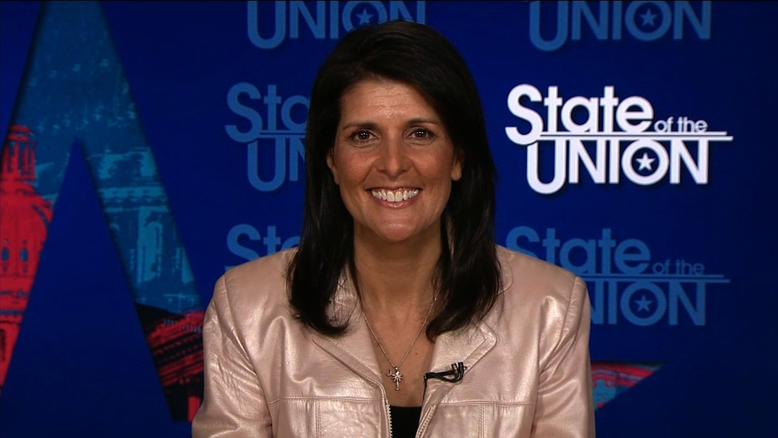 Sotu >> Nikki Haley Fast Facts - CNN