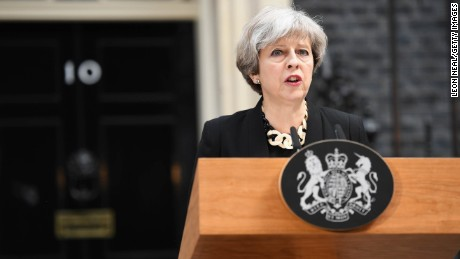 British Prime Minister Theresa May was the alleged target of an assassination plot that was thwarted by security officials.