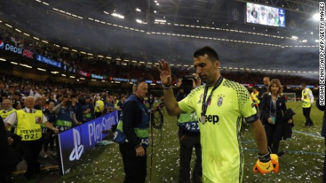 Buffon has conceded six goals against Cristiano Ronaldo in five Champions League games