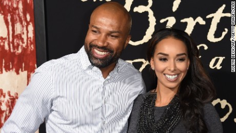 Derek Fisher and girlfriend Gloria Govan at a film premiere in September 2016 in Hollywood.