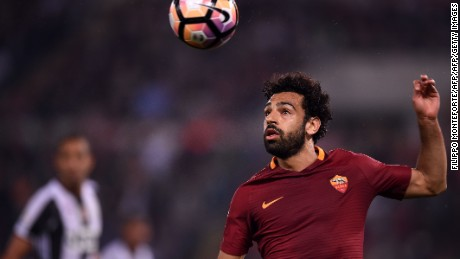 "Norman praised Roma's Egyptian international Mohamed Salah as the ""epitome of a professional guy."""