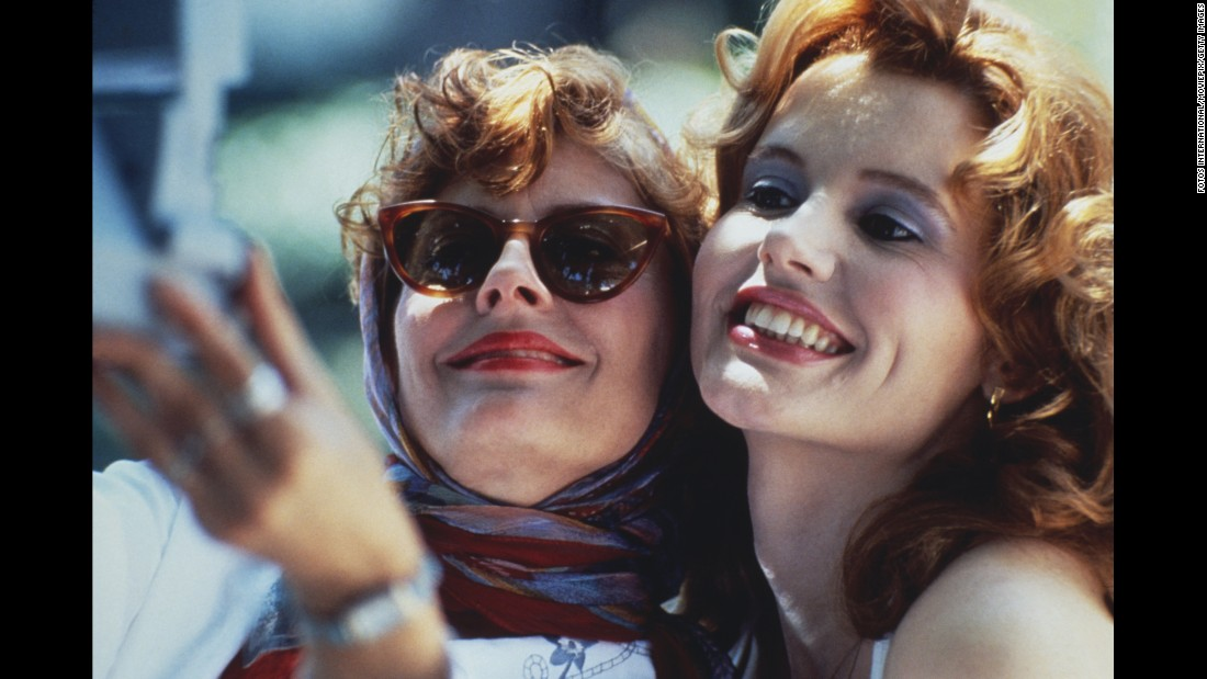 "Starring Susan Sarandon and <a href=""http://www.cnn.com/2017/04/28/entertainment/geena-davis/index.html"">Geena Davis</a>, Ridley Scott's 1991 film about two friends' road trip gone terribly awry is considered a classic for its groundbreaking depiction of feminist themes. The movie was also adored by audiences and critics, raking in over $45 million at the box office, six Academy Award nominations and winning an Oscar for best original screenplay."
