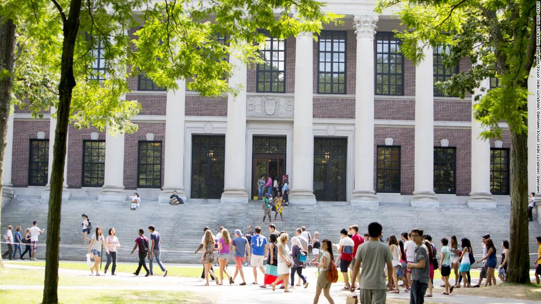 A Harvard faculty member finds a hateful note about her ethnicity on her office door