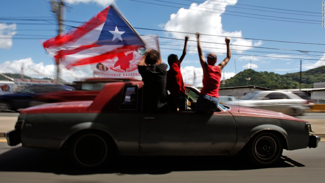 "Puerto Ricans<a href=""http://www.cnn.com/2017/06/12/americas/puerto-rico-statehood-referendum/index.html""> last voted on the question of statehood in 2017</a>. In the nonbinding referendum, 97% of the votes favored statehood, but voter participation was just 23% after opposition parties called for a boycott. Congress, the only body that can approve new states, will ultimately decide whether the status of the US commonwealth changes."