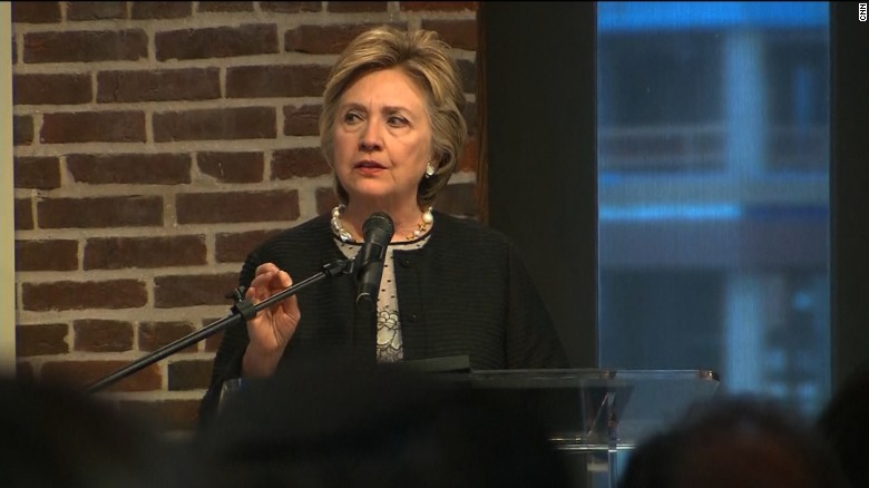 Clinton: Not a time to lash out