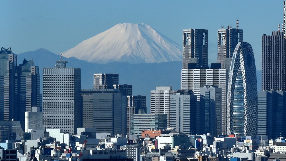 <strong>13. Tokyo:</strong> Visitors to Japan's bustling capital are set to rise by 4.8%, with 9.27 million expected by the end of 2017.