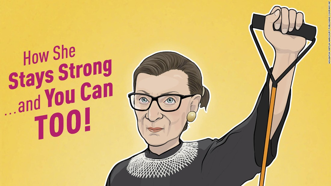 Get fit with the Ruth Bader Ginsburg workout - CNN