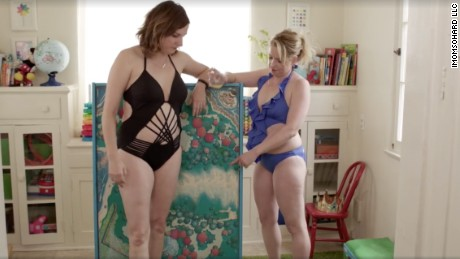 The ripple effects on girls when moms struggle with body image