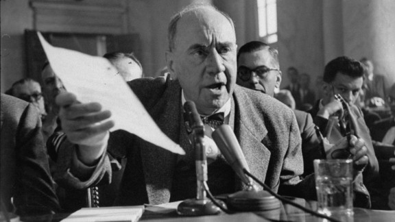 Joseph N. Welch, during the Army-McCarthy hearings.